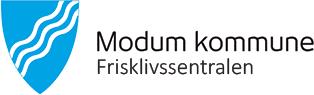Frisklivssentralen i Modum Logo